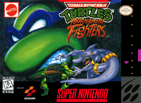 Teenage Mutant Ninja Turtles - Tournament Fighters Nintendo Super NES cover artwork
