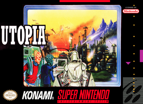 Utopia - The Creation of a Nation Nintendo Super NES cover artwork