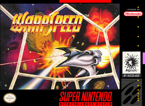 Warp Speed Nintendo Super NES cover artwork