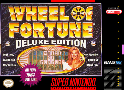 Wheel of Fortune - Deluxe Edition Nintendo Super NES cover artwork