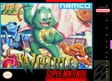 Whirlo Nintendo Super NES cover artwork