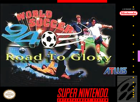 World Soccer 94 - Road to Glory Nintendo Super NES cover artwork