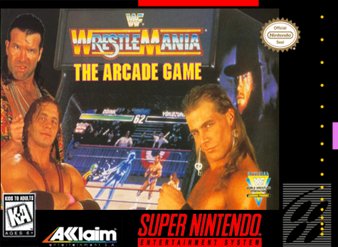 WWF WrestleMania - The Arcade Game Nintendo Super NES cover artwork