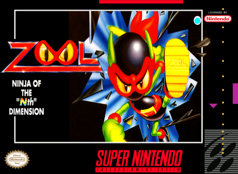 Zool - Ninja of the Nth Dimension Nintendo Super NES cover artwork