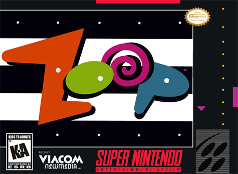 Zoop Nintendo Super NES cover artwork