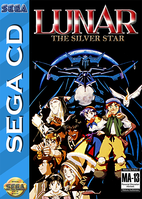 Lunar - The Silver Star Sega CD cover artwork