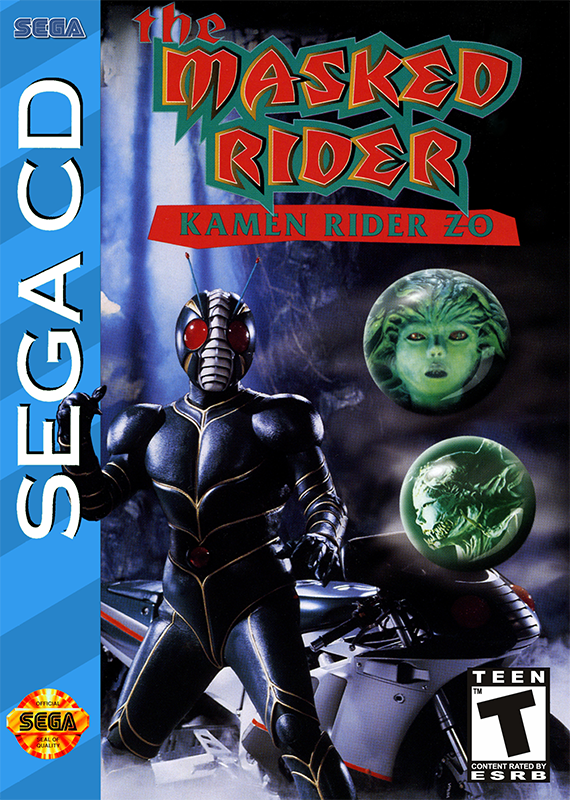Masked Rider, The - Kamen Rider Zo Sega CD cover artwork