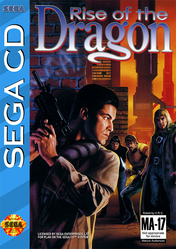Rise of the Dragon Sega CD cover artwork
