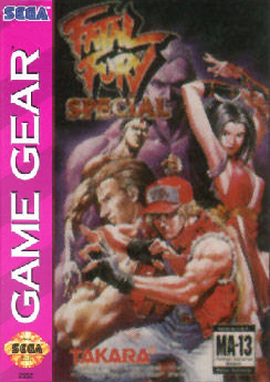 Fatal Fury Special Sega Game Gear cover artwork