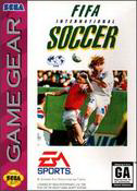 FIFA International Soccer Sega Game Gear cover artwork