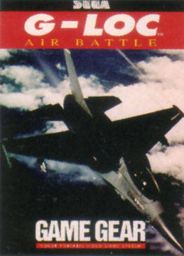 G-LOC Air Battle Sega Game Gear cover artwork