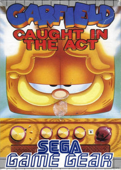 garfield caught in the act game gear