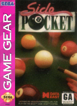 Side Pocket Sega Game Gear cover artwork