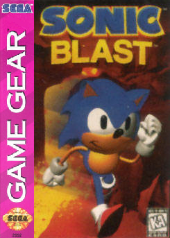 Sonic Blast Sega Game Gear cover artwork