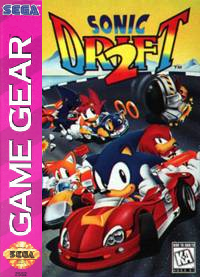 Sonic 2 In 1 Sega Game Gear