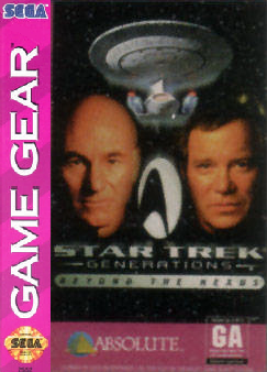 Star Trek Generations - Beyond the Nexus Sega Game Gear cover artwork