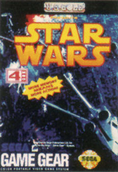 Star Wars Sega Game Gear cover artwork