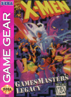 X-Men - Gamemaster's Legacy Sega Game Gear cover artwork