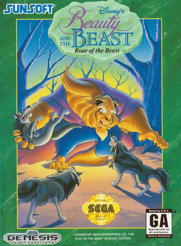 Play Beauty and the Beast - Roar of the Beast Sega Genesis online ...