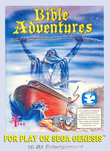 Bible Adventures Sega Genesis cover artwork