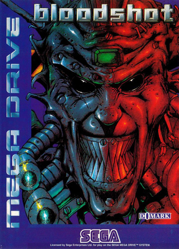 Bloodshot - Battle Frenzy Sega Genesis cover artwork