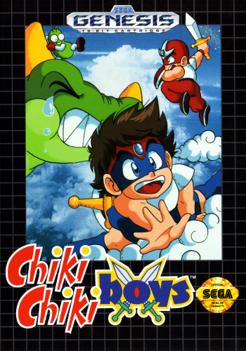 Chiki Chiki Boys Sega Genesis cover artwork