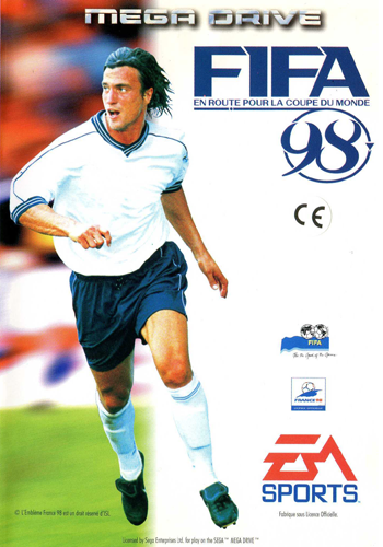 FIFA Soccer 98 - Road to World Cup Sega Genesis cover artwork