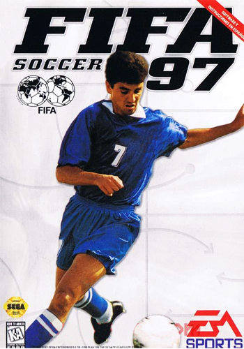 FIFA Soccer 97 Sega Genesis cover artwork
