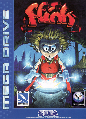Flink Sega Genesis cover artwork