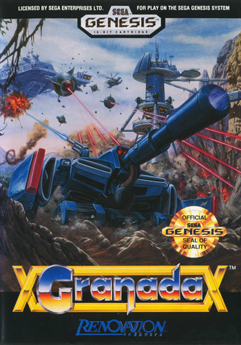 Granada Sega Genesis cover artwork