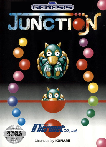 Junction Sega Genesis cover artwork