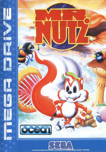 Mr. Nutz Sega Genesis cover artwork