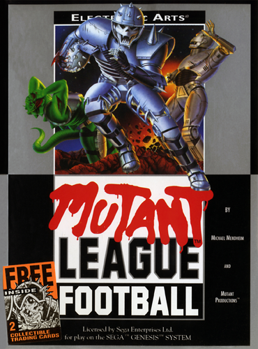 Mutant League Football Sega Genesis cover artwork