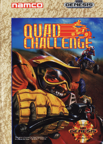 Quad Challenge Sega Genesis cover artwork