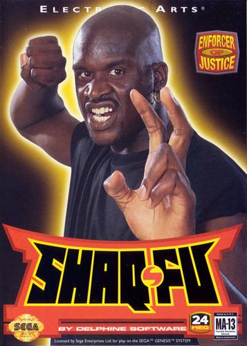 Shaq-Fu Sega Genesis cover artwork
