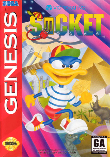 Socket Sega Genesis cover artwork