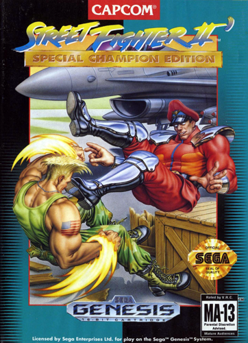 Street Fighter II' - Special Champion Edition Sega Genesis cover artwork