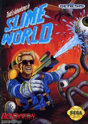Todd's Adventures in Slime World Sega Genesis cover artwork