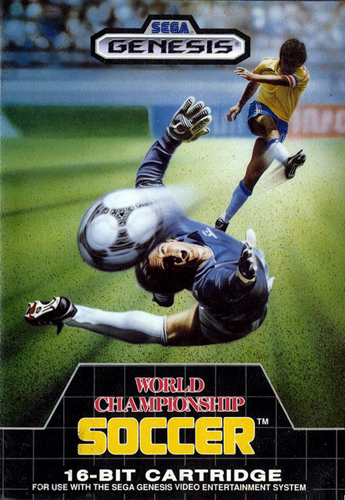 World Cup Soccer - World Championship Soccer Sega Genesis cover artwork