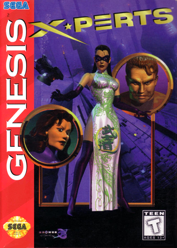 X-Perts Sega Genesis cover artwork