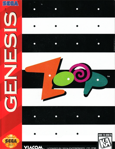 Zoop Sega Genesis cover artwork