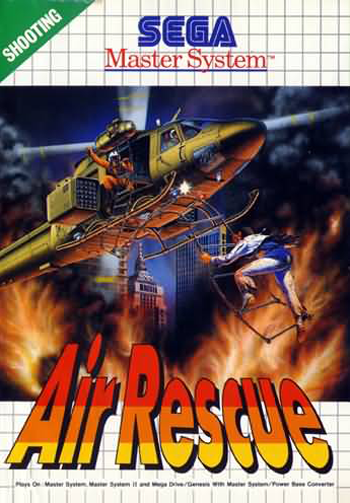 Air Rescue Sega Master System cover artwork