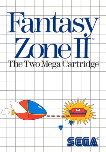 Fantasy Zone II - The Tears of Opa-Opa Sega Master System cover artwork