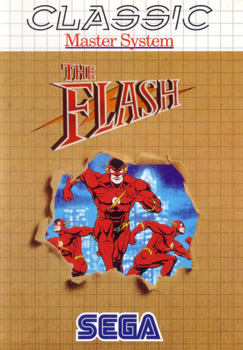 Flash, The Sega Master System cover artwork
