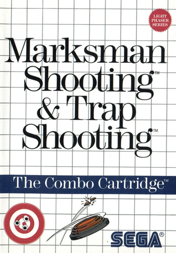 Marksman Shooting & Trap Shooting Sega Master System cover artwork