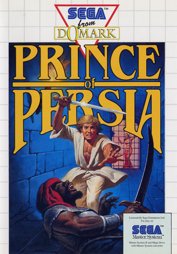 Prince of Persia Sega Master System cover artwork