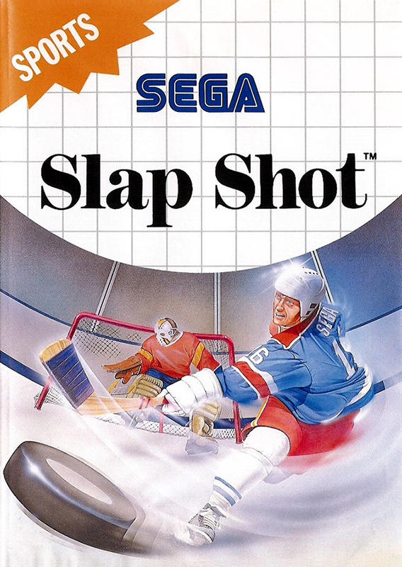 Slap Shot Sega Master System cover artwork