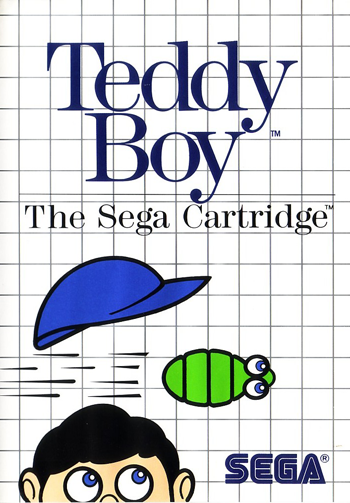 Teddy Boy Sega Master System cover artwork
