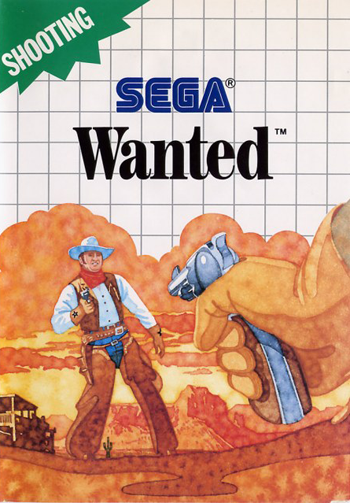 Wanted Sega Master System cover artwork