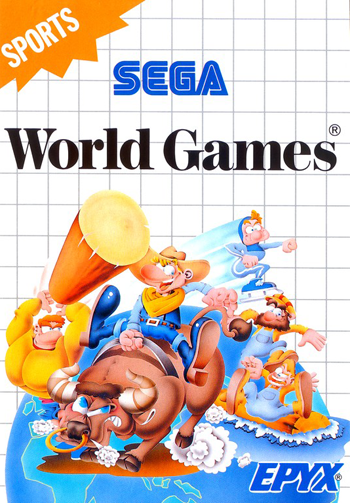 World Games Sega Master System cover artwork